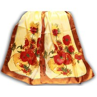 "Robin Ruth Fashion Ladies Scarf ""Sunflowers"""