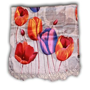 Robin Ruth Fashion Ladies Scarf with Tulpprint Robin Ruth