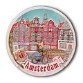 Typisch Hollands Amsterdam Wandbord 18 cm