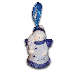 Typisch Hollands Delfter Blau Weihnachtsengel