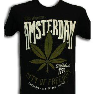 Typisch Hollands Cannabis Items T-Shirt Amsterdam - Cannabis