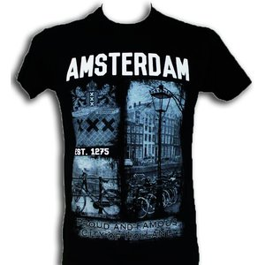 Typisch Hollands T-Shirt Amsterdam est 1275