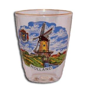 Typisch Hollands Schnapsglas Holland