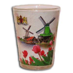 Typisch Hollands Schnapsglas Zaanse Schans