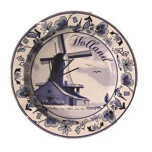 Typisch Hollands Ashtray - Metal - Delftware