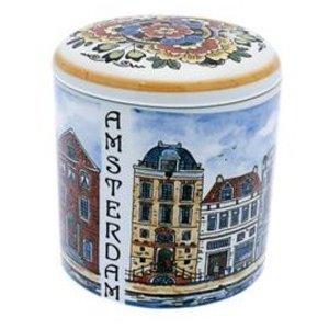 Typisch Hollands Storage pot (syrup waffles)