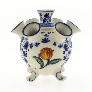 Typisch Hollands Tulip vase (Blue and Orange)