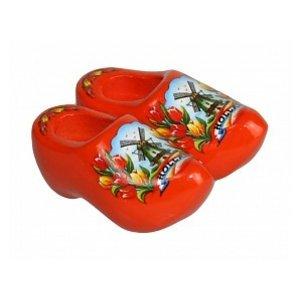 Typisch Hollands Magnet Klompje Oranje