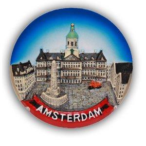 Typisch Hollands MIDI-Platte Amsterdam