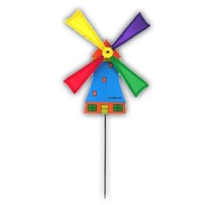 Typisch Hollands Windmühle am Stiel