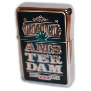 Typisch Hollands Zipper Zwart - Holland Amsterdam