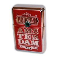 Typisch Hollands Zipper Rood Holland - Amsterdam