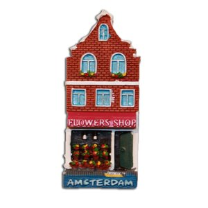 Typisch Hollands Magnet Facade Cottage Flower Shop