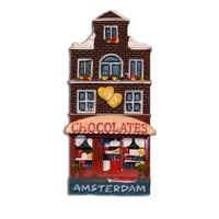 Typisch Hollands Magnet Fassade Haus Chocolaterie