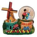 Typisch Hollands Snow schudbol Holland - Windmill