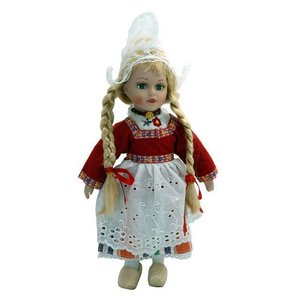 Typisch Hollands Holland traditional doll doll 20 cm