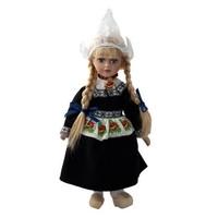 Typisch Hollands Holland Kostüm Puppe 20cm