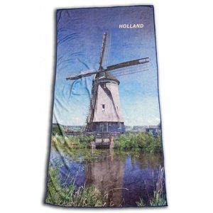 Typisch Hollands Badetuch Mühle
