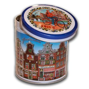 Stroopwafels (Typisch Hollands) Tin Stroopwafels Facade Houses