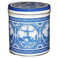 Stroopwafels (Typisch Hollands) Stroopwafels in Blik Holland - Delft blue