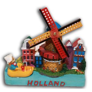 Typisch Hollands Holland Szene Stadsmolen