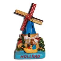 Typisch Hollands Holland scene Poldermolen