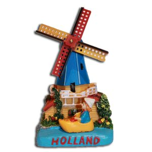 Typisch Hollands Holland Szene Poldermolen