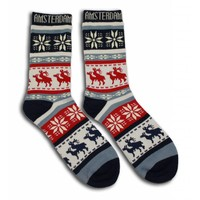 Robin Ruth Fashion Wrong Christmas socks Nauhgty Rudolph -3rd pair FREE
