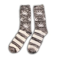 Robin Ruth Fashion Cannabis striped socks - Men