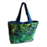 Robin Ruth Fashion Large Bag - Irises
