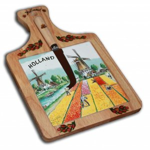 Typisch Hollands Cheeseboard large Tulpenveld