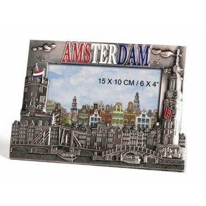 Typisch Hollands Photo frame Nickel Amsterdam