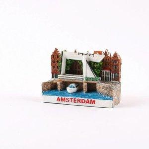Typisch Hollands Magnet Miniature Amsterdam