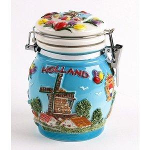 Typisch Hollands Storage pot with lid