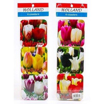 Typisch Hollands Onderzetters Tulpen