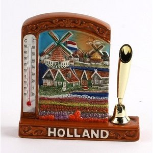 Typisch Hollands Pen holder - With Thermometer
