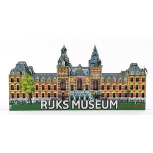 Typisch Hollands Magneet Rijksmuseum Amsterdam
