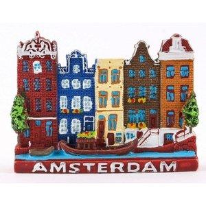 Typisch Hollands Magneet Amsterdam - Color