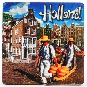 Typisch Hollands Magnet Holland - Käse Carriers