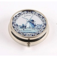 Typisch Hollands Pillbox Holland Delft Blue