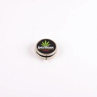 Typisch Hollands Pillbox Marihuana-Blatt-