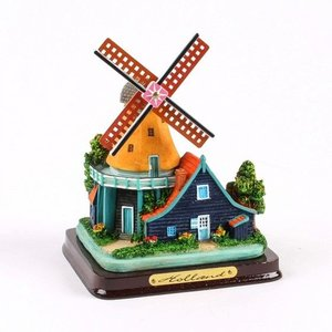 Typisch Hollands Molenlandschap 12 cm