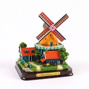 Typisch Hollands Molenlandschap 12cm