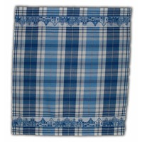 Typisch Hollands Tea towel Blue - White