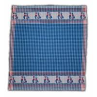 Typisch Hollands Tea towel Blue - Kissing Couple