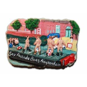 Typisch Hollands Magnet - Gay parade - Amsterdam