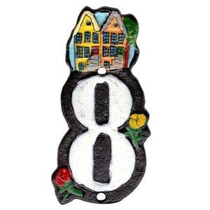 Typisch Hollands Hausnummer 8