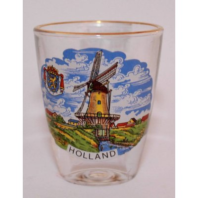 Typisch Hollands Shot glass Holland