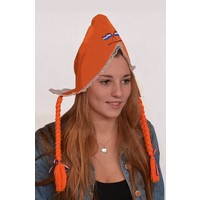 Typisch Hollands Hul - Orange - Zöpfe