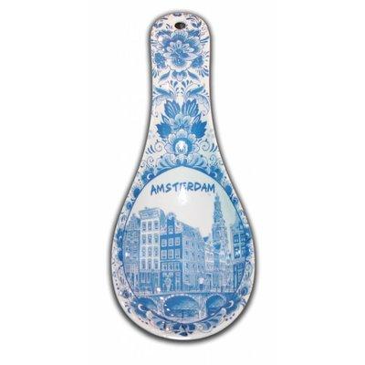 Typisch Hollands Spoon Holder Amsterdam - Delftware